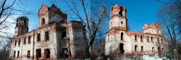 Преображенская церковь в Вышнем Волочке