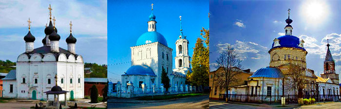 Церковь и храмы Зарайска