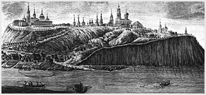 остров-град Свияжск старый