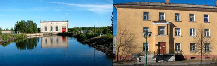 Кондопожская ГЭС и Краеведческий музей