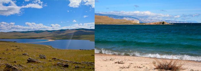 Озеро Ханхой. Байкал, о.Ольхон