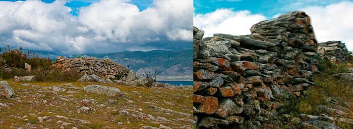 Курыканская стена. Байкал, о.Ольхон