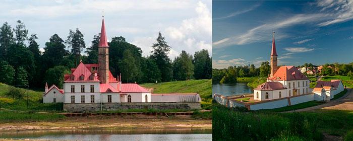 Приоратский дворец и парки в Гатчине