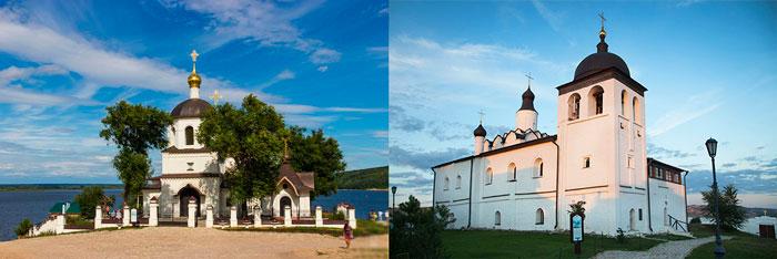 Церковь Сергия Радонежского и Церковь святых Константина и Елены