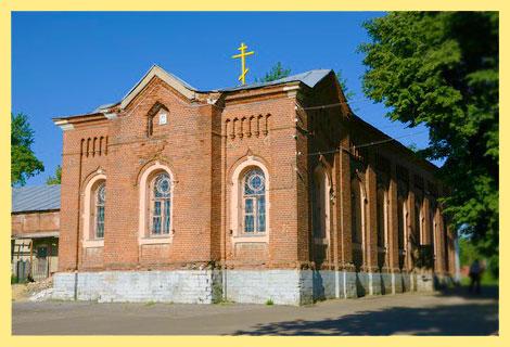 Церковь Иконы Казанской Божьей Матери Зарайск
