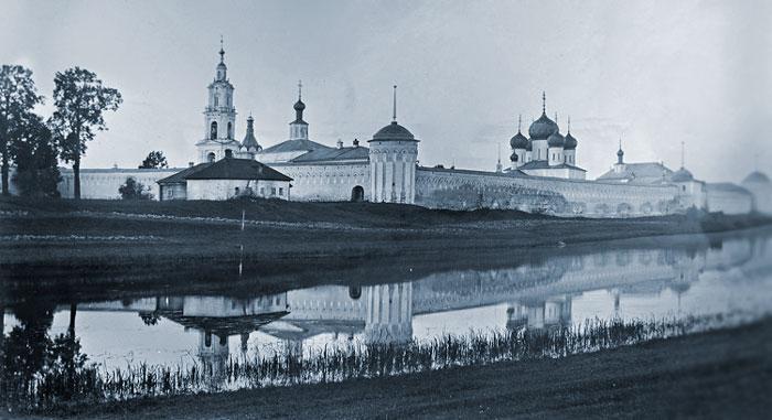 КалязинскийТроицкий монастырь до затопления