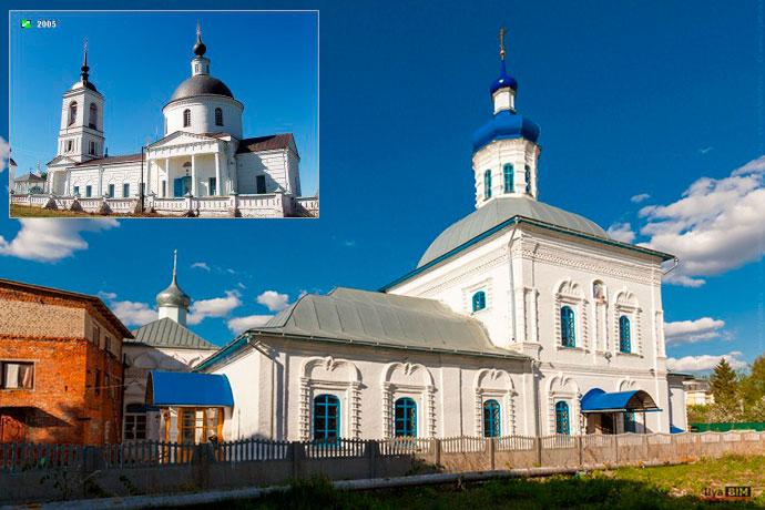 Введенский и Никоновский храмы. Юрьев-Польский
