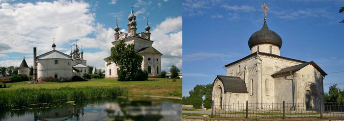 Георгиевский собор и Михайло -Архангельский монастырь в Юрьев-Польском