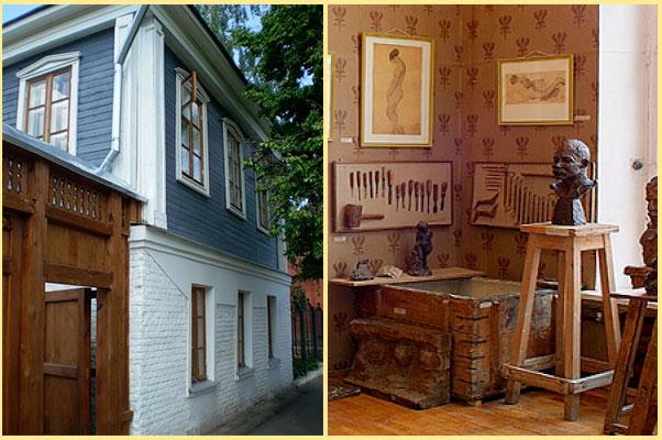 Дом-музей скульптора А. Голубкиной