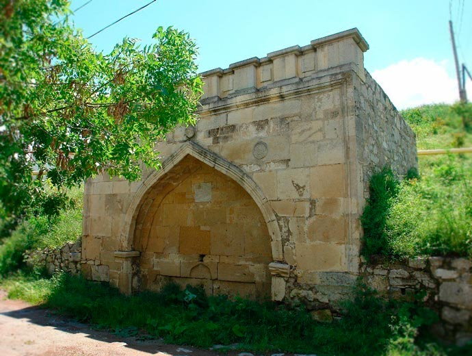 Армянский фонтан в Феодосии