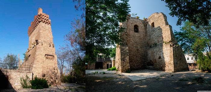 Башня Святого Константина Феодосии