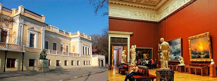 Национальная картинная галерея И.К. Айвазовского в Феодосии