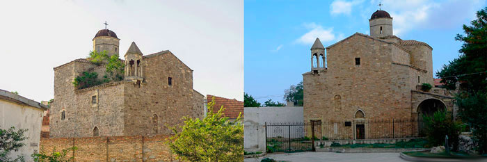 Сурб Рештакапетай (церковь святых Архангелов Михаила и Гавриила) Феодосия