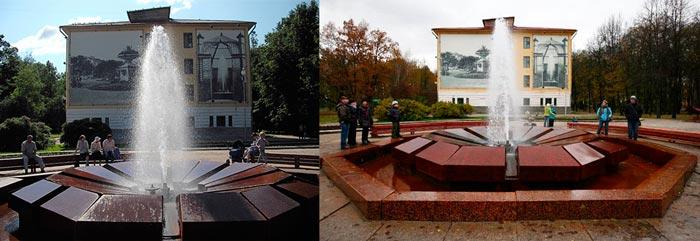 Муравьёвский фонтан в Старой Руссе