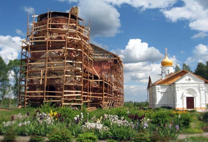 Никольский Косинский монастырь в Старой Руссе