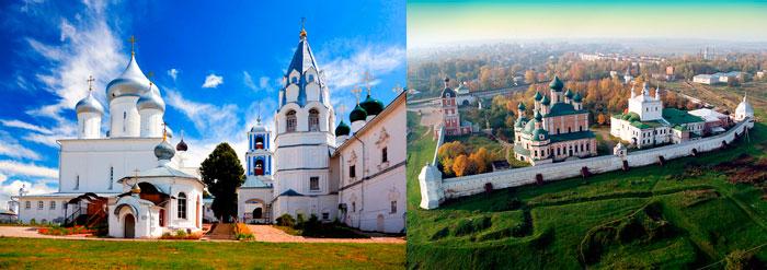 Никитский и Горицкий монастыри в Переславле-Залесском