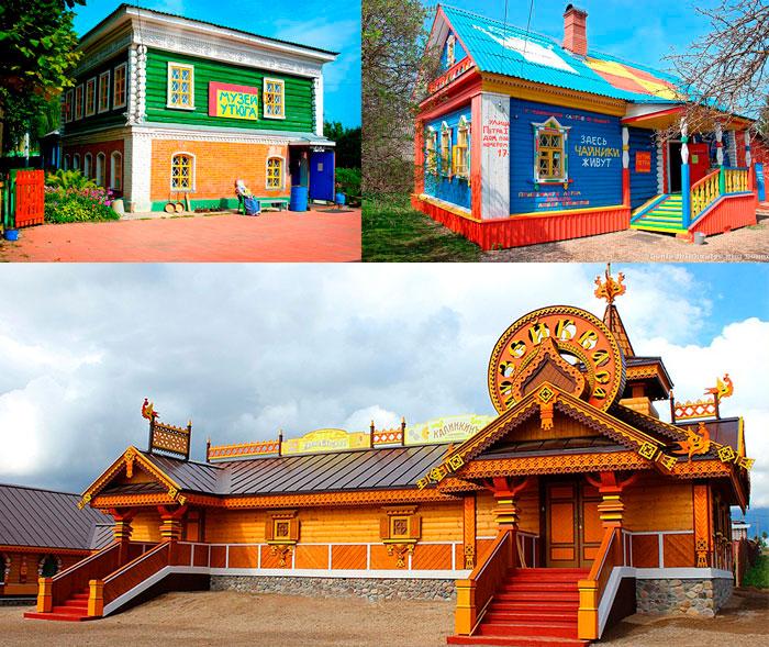 Музеи: утюга, чайника и Русский парк в Переславле-Залесском
