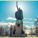 Муром и памятник Илье Муромцу