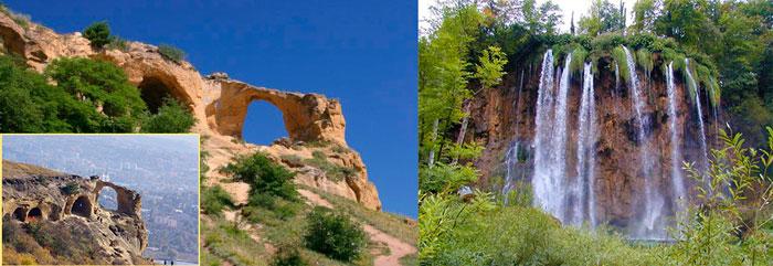 Кольцо-гора и медовые водопады в Кисловодске