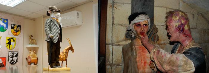 Музей козла и музей ужасов в Твери