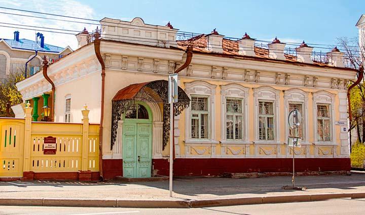 Дом-музей Машарова в Тюмени
