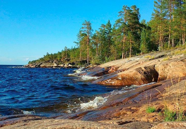 Ладожское озеро в Петрозаводске
