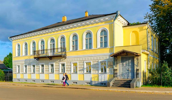 Музей уездного города на Валдае
