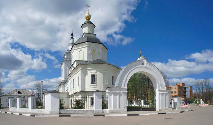 Покровская церковь в Рузе