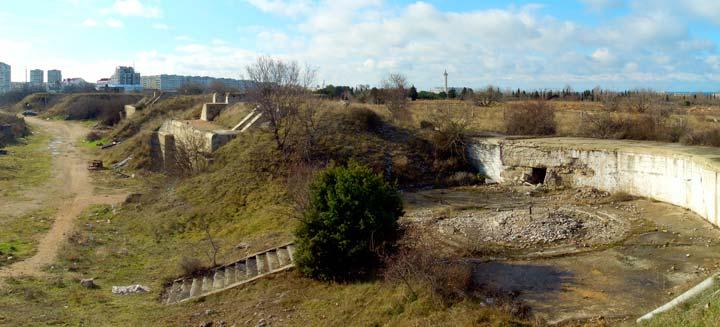 Севастопольская батарея в Севастополе