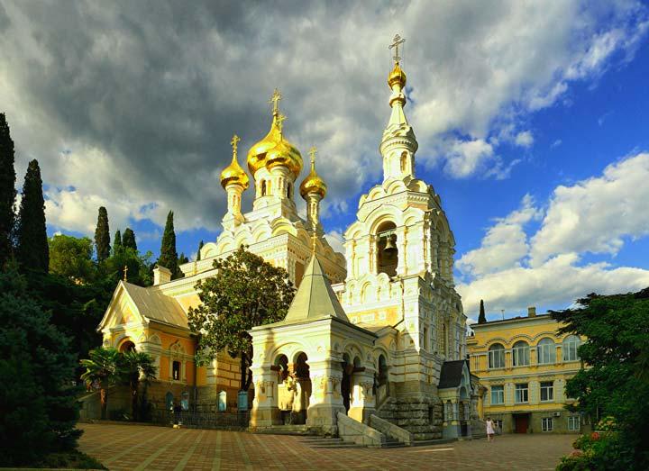 Собор Святого Александра Невскогов Ялте