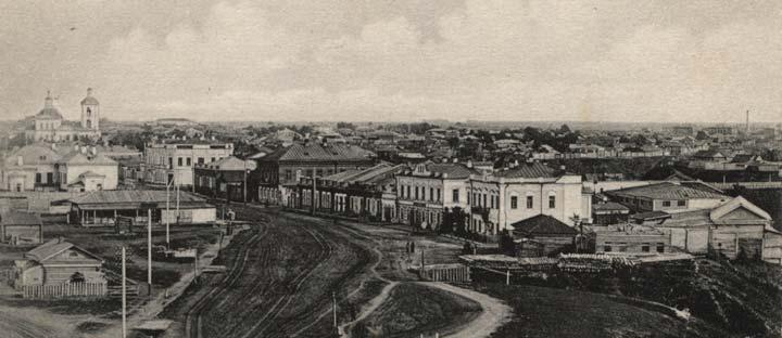 История развития Тюмени в 20-м веке