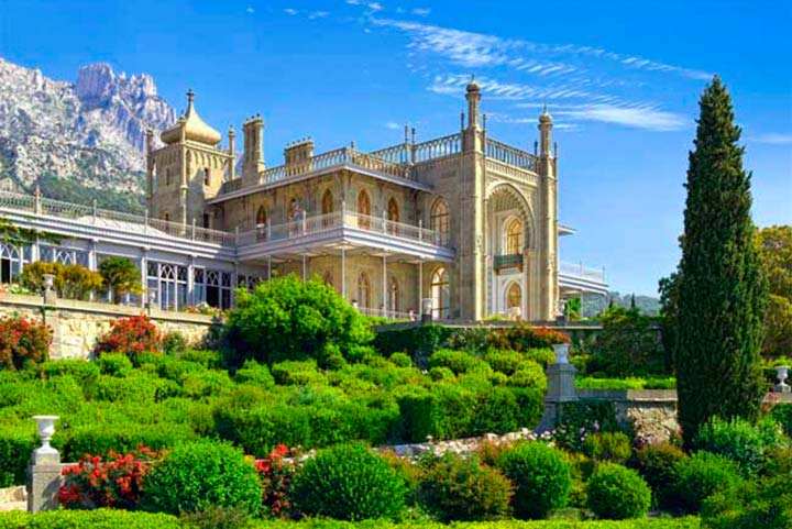 Воронцовский дворец в Ялте