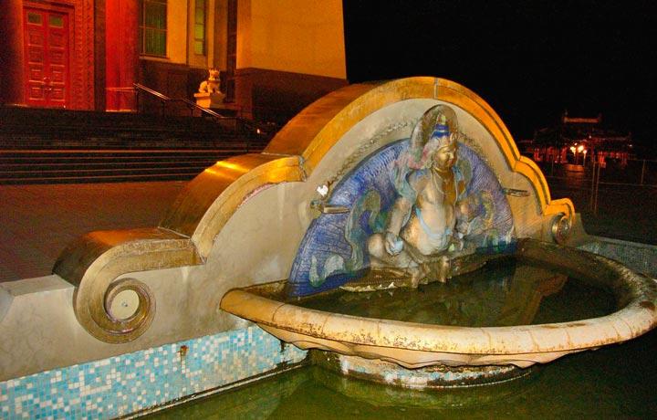 Бог богатства - Кубера в Элисте