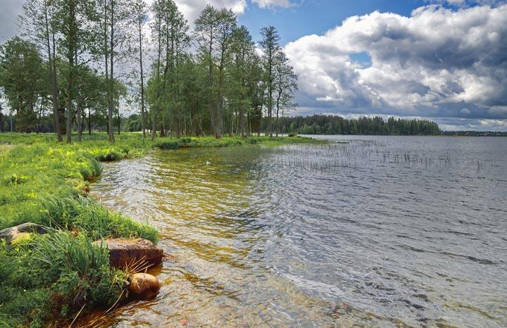 Валдайское озеро и чистота его воды
