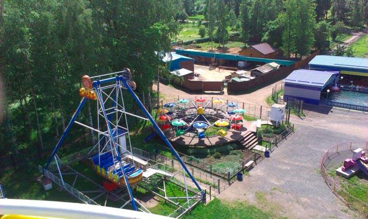 Главный парк культуры и отдыха в Петрозаводске