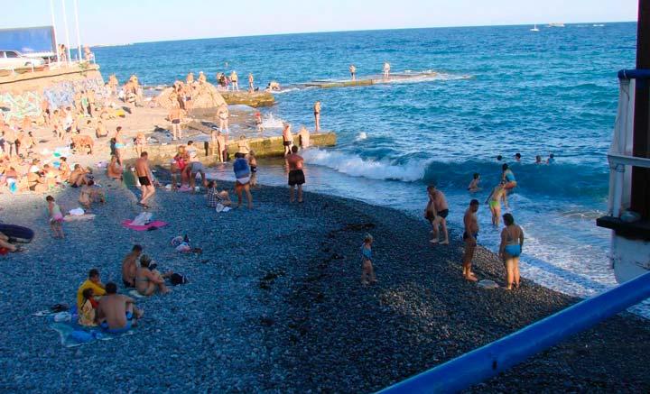Чистота ялтинских пляжей