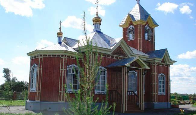 Свято - Владимирский храм Тюмени