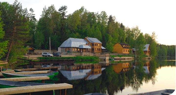 Туристические базы на озере Валдай