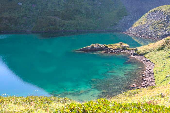 Голубое Озеро (Озеро абхазского старца)