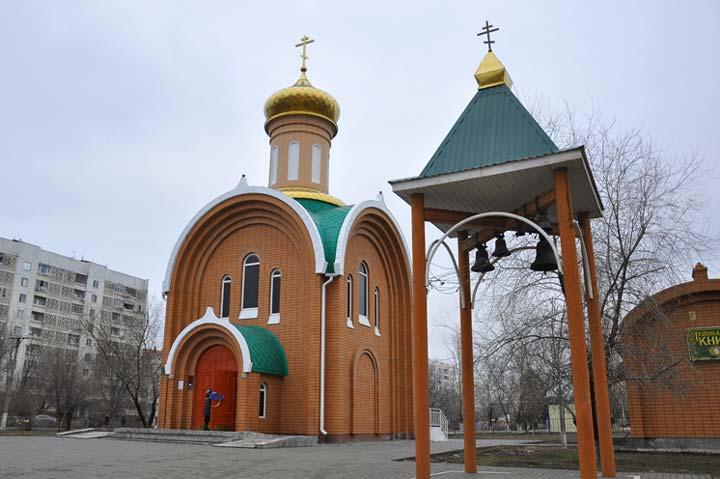 Храм-часовня Сергия Радонежского в Элисте