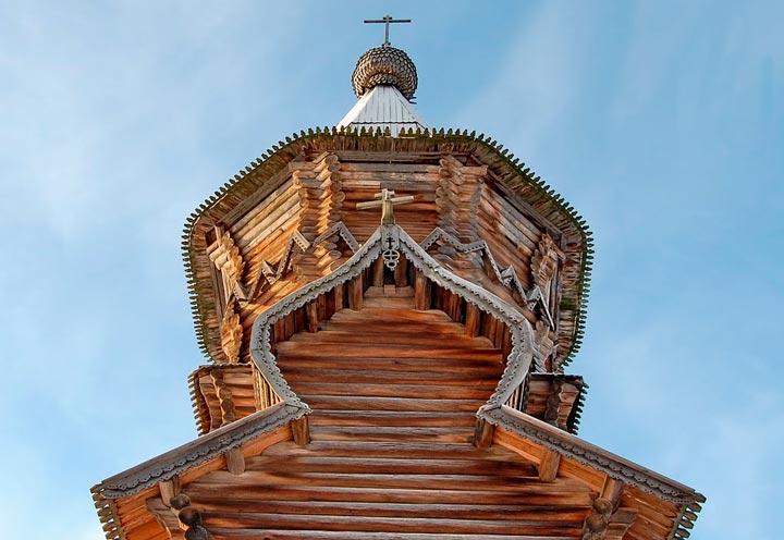 Стиль создания Успенской Церкви в Кондопоге