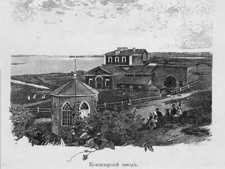 Чугуноплавильный завод в Кондопоге история