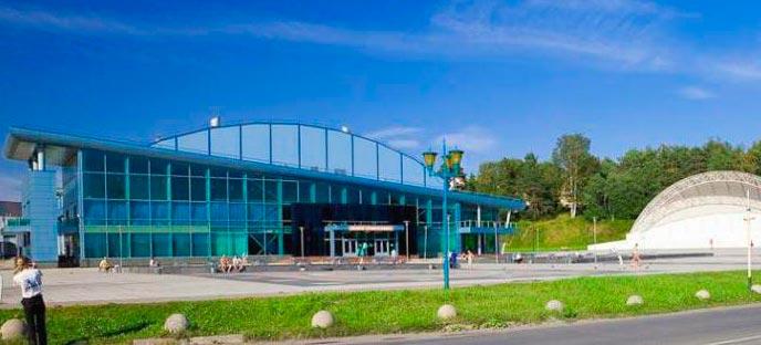 Ледовый Дворец в Кондопоге
