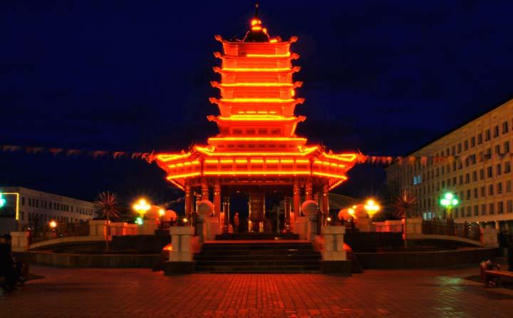 Ночная Пагода семи дней