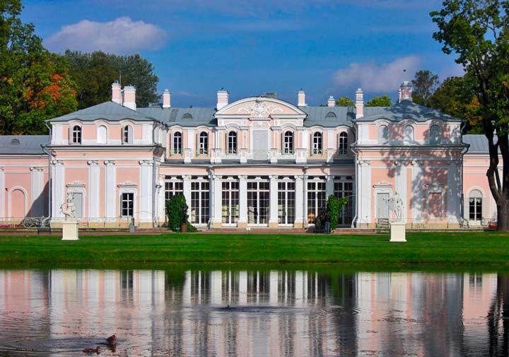 Дворец Екатерины Великой в Ораниенбауме