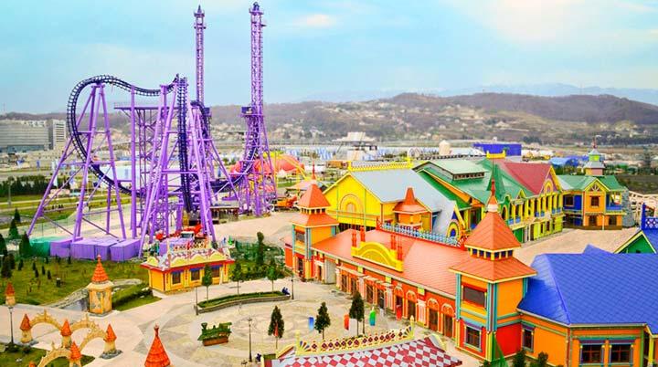 Сочи-парк - это парк аттракционов и развлечений