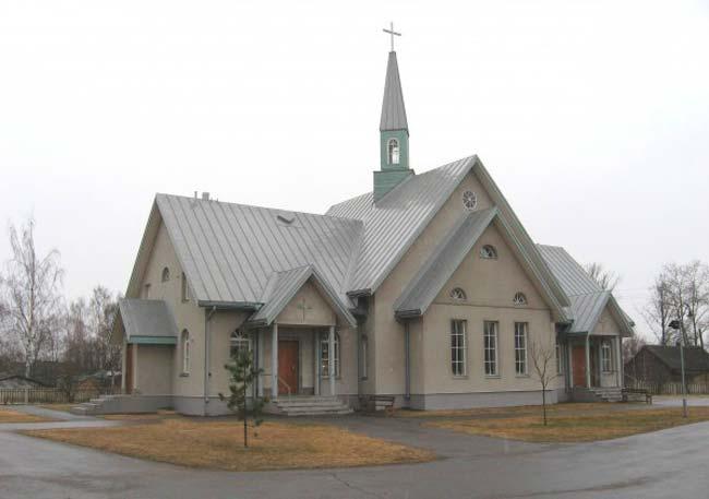Церковь святого Креста Церкви Ингрии в Олонце