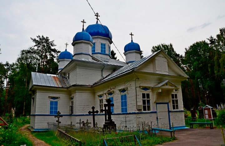 Успенская Церковь в Олонце