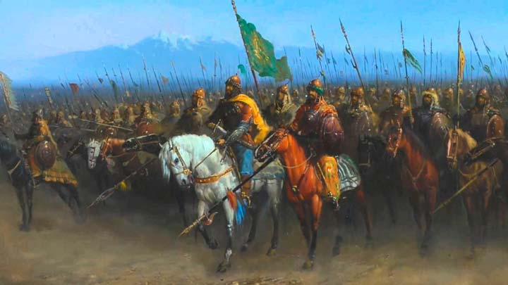 Войско Тамерлана в истории Архыза