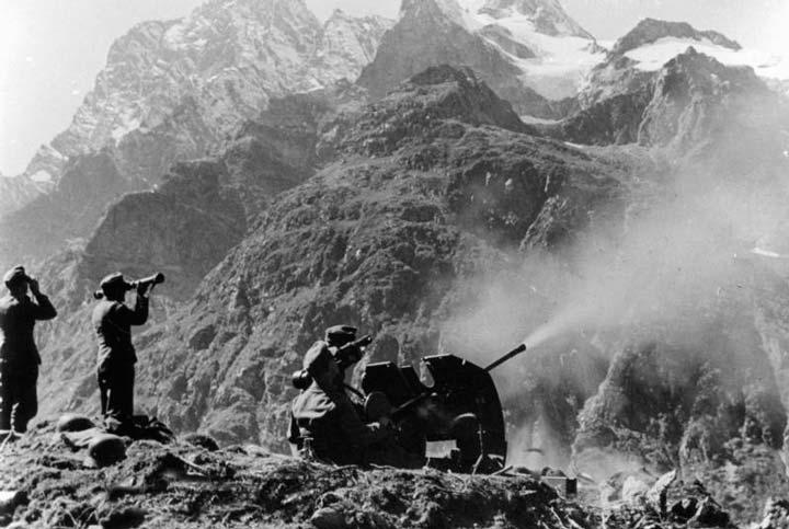 Архыз во время Великой отечественной войны